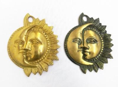 Kartique Showpiece  -  2 cm(Brass, Gold)