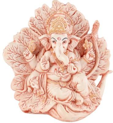 EtsiBitsi EtsiBitsi Pann Ganesha in Antique Look Showpiece  -  15 cm