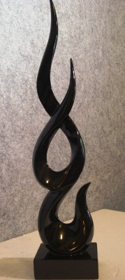 Fusion Gallery Flame Sculpture Showpiece  -  55 cm