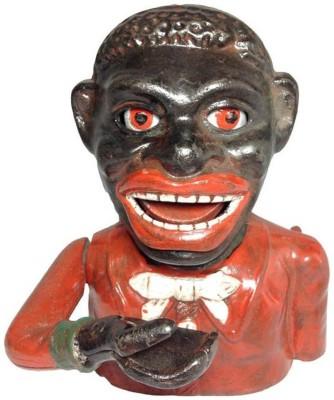 Smc Jolly Nigger Bank Showpiece  -  16 cm