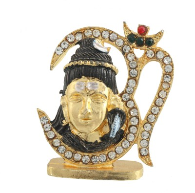 Divine Gifts & Artificial Jewellery Shanker With Om Showpiece  -  4 cm