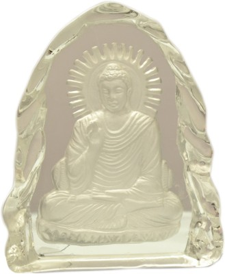 Odisha Bazaar Vastu Fengsui Crishatal Blessing Buddha Showpiece  -  15 cm