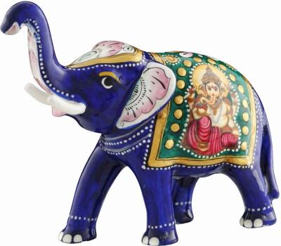 Aashirwad Arawat Elephant Showpiece  -  4.5 cm