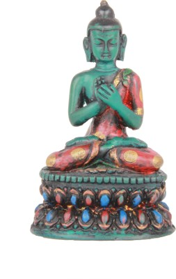 Adaa Lord Buddha In Padmasana Showpiece  -  9 cm