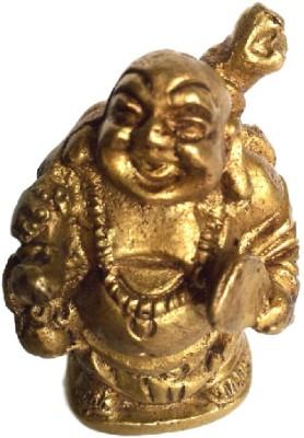 Divine Temples Showpiece  -  4.5 cm(Brass, Gold)