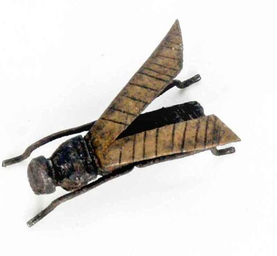 KHUSHI HANDICRAFTS HAND MADE HOUSE FLY Showpiece  -  0.5 cm