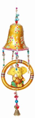 Gulshan Arts Crafts Ghanti ganesh Showpiece  -  5 cm
