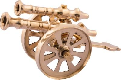 Being Nawab Handcrafted Brass Canon Showpiece 4.5 inch Showpiece  -  6.5 cm