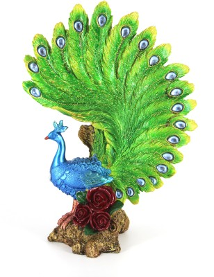 Swissport Peacock Showpiece  -  38 cm