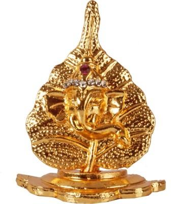Arghyam Peepal Leaf Ganesh Ji Showpiece  -  4.5 cm