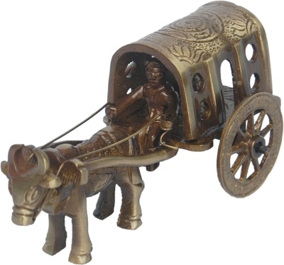 Aakrati Bull Cart Designer Sculpture Showpiece  -  5 cm