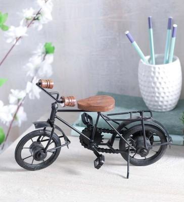 Onlineshoppee Miniature Iron Bicycle Showpiece  -  17.78 cm