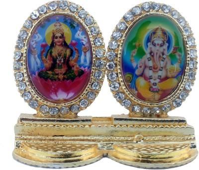 Divyas Lord Laxmi Ganesh Idol Showpiece  -  5 cm