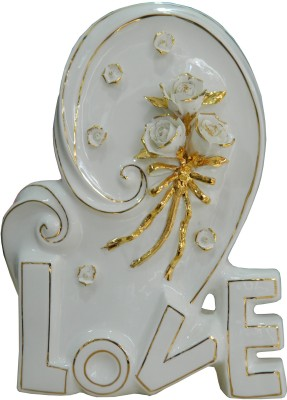 GiftsGannet Antique Ceramic Love Decorative Showpiece  -  37 cm