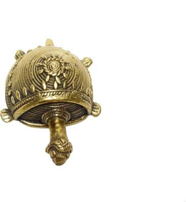 Rays Creative Art Tortoise Brass Showpiece  -  4 cm