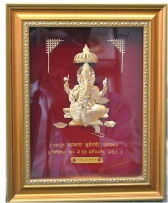 Aarya 24kt Mini Ganesha Showpiece  -  23 cm