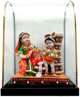 Indian Traditional Stores Maa Yashoda With Kanha Showpiece  -  23 cm