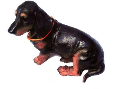 Gooddeals Puppy Dog Figurine Showpiece  -  17 cm