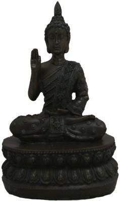 Divya Mantra Meditating Buddha Statue Showpiece  -  15 cm