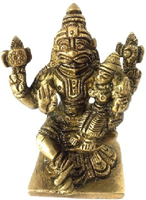Divine Temples Showpiece  -  7.5 cm(Brass, Gold)