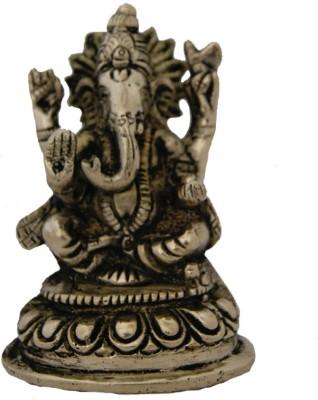 Aaradhi Divya Mantra Lord Siddhivinayak Ganesha 4 Inches Idol Showpiece  -  10 cm