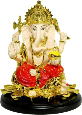 GiftsGannet Antique Ganesha Showpiece  -  18 cm