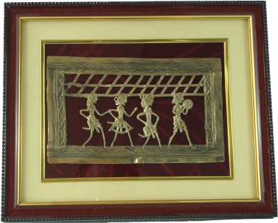 Roopini Dhokra Jhara Art Showpiece  -  25 cm