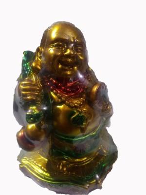 SportsHouse Laughing Buddha Showpiece  -  12 cm