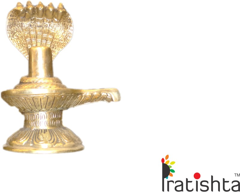 PRATISTHA Showpiece  -  16 cm(Gold, Gold)