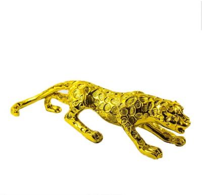 GiftsCellar Running Cheetah Showpiece  -  9 cm