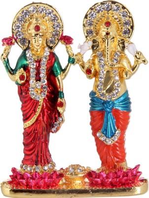Rinoto Ganesh Laxmi Showpiece  -  7 cm