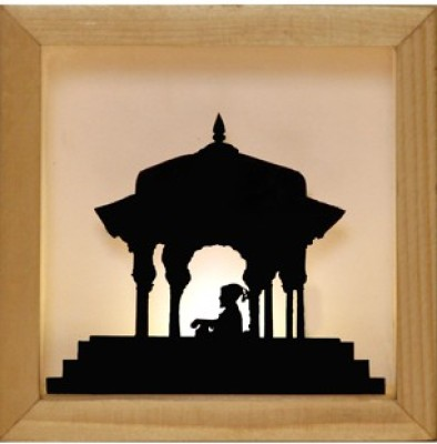 Wooden Showpice By Art Ka Keeda Showpiece  -  10.16 cm