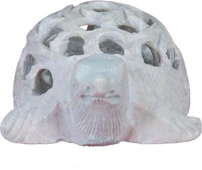 Kaushal Creation Marble Tortoise Showpiece  -  6 cm