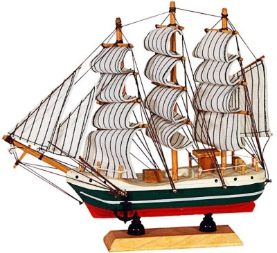JaipurCrafts Decorative Sailing Ship Showpiece  -  24 cm