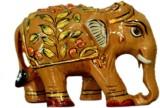 Collectible India Elephant Statue Animal...
