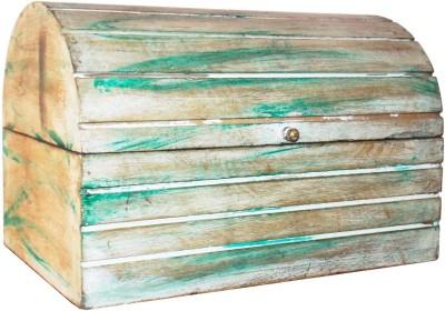 Indune Lifestyle Half Round Distressed Box Showpiece  -  20 cm