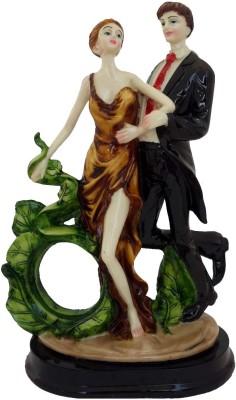 Divinecrafts Dancing Couple Showpiece  -  28 cm