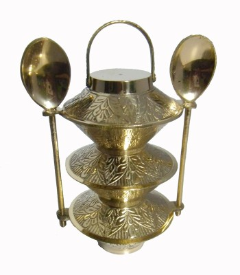 Homedesires Showpiece  -  12.5 cm(Brass, Gold)