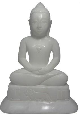 Avinash Handicrafts White Stone Mahaveer 6