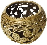 Aamore Decor 1 1 Compartments Brass Bool...