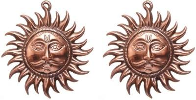 Sutra Décor Wall Hanging Vastu Sun Mask Showpiece  -  25 cm