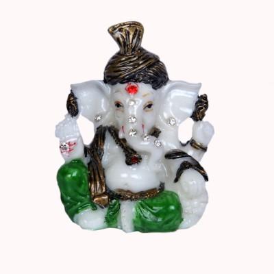 Artcraftindia Lord Ganesha Showpiece  -  7.8 cm