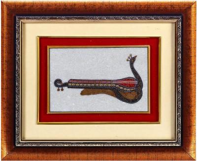 Aapno Rajasthan Sitar Design Showpiece  -  28 cm