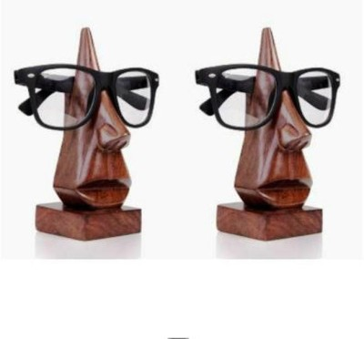 Onlineshoppee Goggles Showpiece  -  12.7 cm(Wooden, Brown)