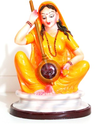 SrinidhiHandiCreations Meera Bai Showpiece  -  24 cm