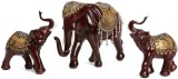 Collectible India Large Mother Baby Elep...