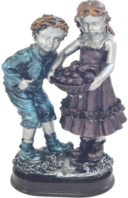 Ambience Interior Mall Ambience Couple Statue Big Showpiece  -  22 cm
