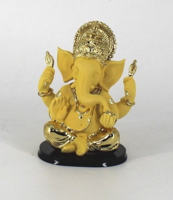 Swissport Beautiful Ganesha Showpiece  -  16 cm