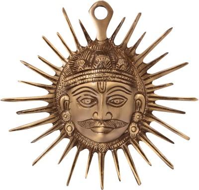 eCraftIndia Smiling Surya Wall Hanging Showpiece  -  16 cm