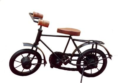Divinecrafts Metal Bicycle Prototype Showpiece  -  20 cm